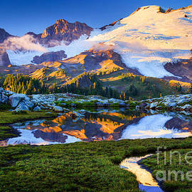 Inge Johnsson - Mount Baker Reflection