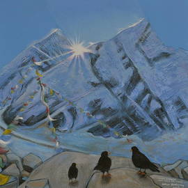 Arthur Glendinning - Mount Everest from Kala Patthar