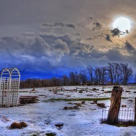 Joann Vitali - Trapp Family Lodge - Vermont Winter Scene - Stowe