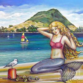 Selena Boron - Mount Maunganui Beach Mermaid 160313