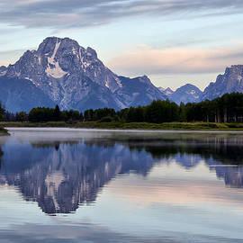 Teresa Zieba - Mount Moran Misty Reflection