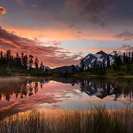 Dan Mihai - Mount Shuksan Fiery Sunrise