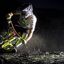 Matt Edwards - Mountain Bike at Night