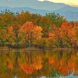 Steve Luther - Mountain Foliage Reflections