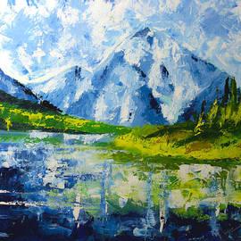 Ruslana Levandovska - Mountain Lake