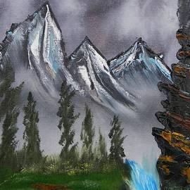 Warren Thompaon - Mountain Landscape at Dawn