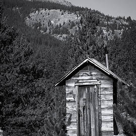 Julie Magers Soulen - Mountain Privy BW