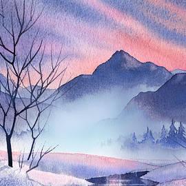 Teresa Ascone - Mountain Silhouette