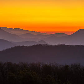 Serge Skiba - Mountain Sunset in Tennessee