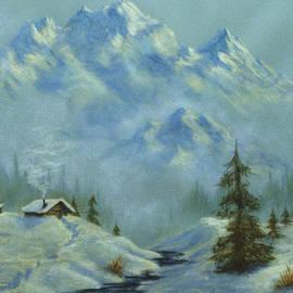 Teresa Ascone - Mountain View with Creek
