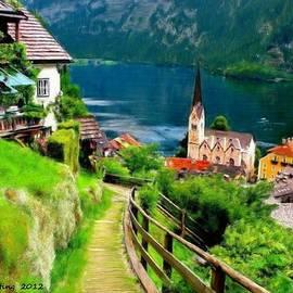 Bruce Nutting - Mountain Village Lake