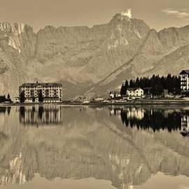 David Broome - Mountain Village Reflections
