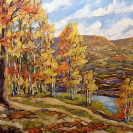 Richard T Pranke - Mountain Vista by Prankearts