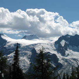 Bert Hoff - Mountains from Jumbo Pass road - Purcells - BC