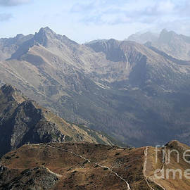 Joanna Cieslinska - Mountains landscape