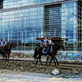 Mike Martin - Mounted Troopers Patrol CMGI Stadium