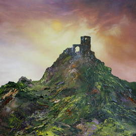 Jean Walker - Mow Cop Folly  Cheshire