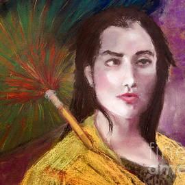 Yoshiko Mishina - Ms. X    Live Model Painting