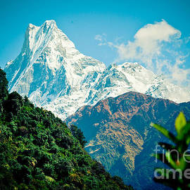 Raimond Klavins - Mt Machapuchare or Fish Tail NEPAL Artmif