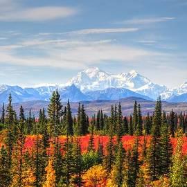Bruce Friedman - Mt McKinley in the Autumn - Alaska