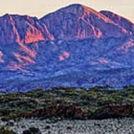Paul Svensen - Mt Sonder Sunrise