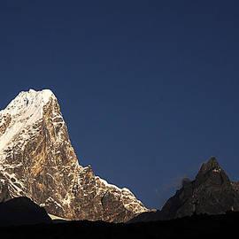 Kedar Munshi - Mt Taboche from Dingboche