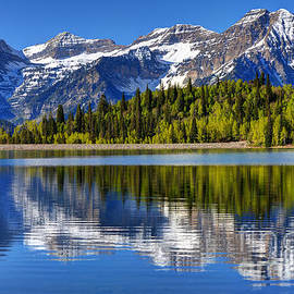 Gary Whitton - Mt. Timpanogos Reflected in Silver Flat Reservoir - Utah