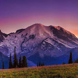 Mike Penney - Mt.Rainier Sunset 1