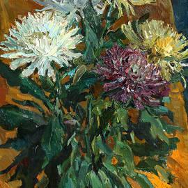 Juliya Zhukova - Multi colored chrysanthemums