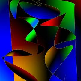 Mario  Perez - Multicolor Abstract Art