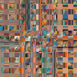 Ben and Raisa Gertsberg - Multicolored Fractured Reality