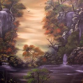 Cynthia Adams - Multitudes of Cascades  Sold
