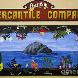 Bob Christopher - Mural Bandon Mercantile Company