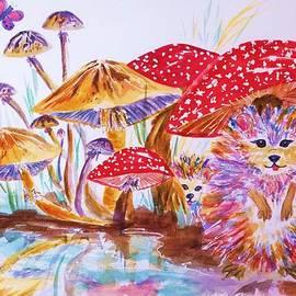 Ellen Levinson - Mushrooms and Hedgehogs