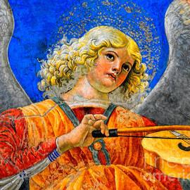 Nigel Fletcher-Jones - Musical Angel Basking in the Light of Heaven 2