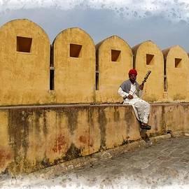Sue Jacobi - Musician - Amber Palace - India Rajasthan Jaipur