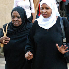 Robert Ford - Muslim Women on the Streets of Dwntown Nairobi Kenya
