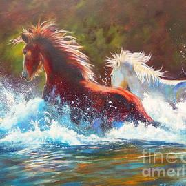 Karen Kennedy Chatham - Mustang Splash