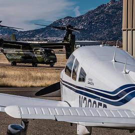 Alan Marlowe - MV-22 Osprey and Piper Dakota