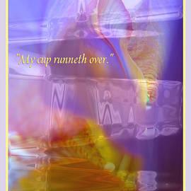 Brooks Garten Hauschild - My Cup Runneth Over - Iris Abstract and Verse
