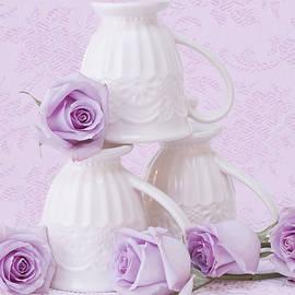 Sandra Foster - My Favorite Cream Lace Mugs