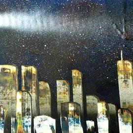 Chris DeVries - My first city skyline