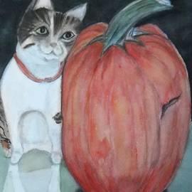Marian Hebert - My guy and the Pumpkin