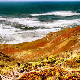 Bob and Nadine Johnston - My Impression of California Coastline