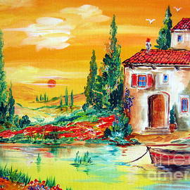 Roberto Gagliardi - My little Tuscany home by the river