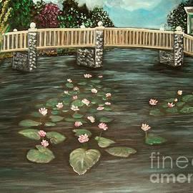 Rhonda Lee - My Monet Water Lilies