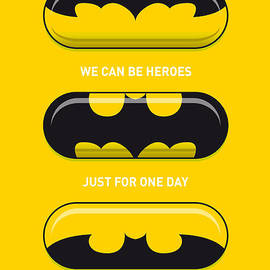 Chungkong Art - My SUPERHERO PILLS - Batman