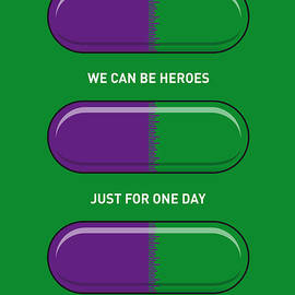 Chungkong Art - My SUPERHERO PILLS - The Hulk
