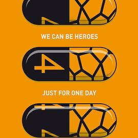 Chungkong Art - My SUPERHERO PILLS - The Thing