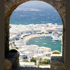 Leanne Vorrias - Mykonos Through The Arch